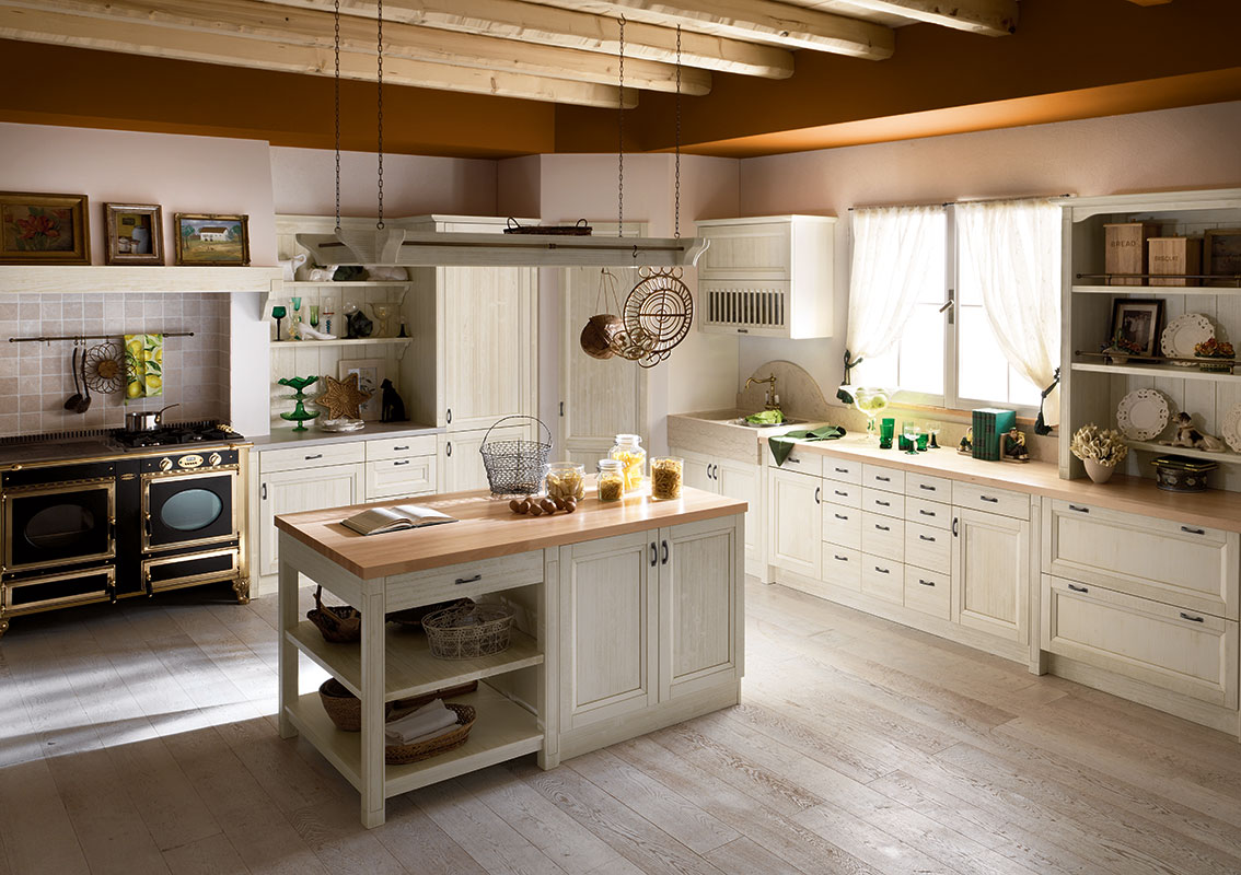 Beautiful Cucine Country Con Isola Pictures - Home Design - joygree.info